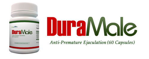 DuraMale - Stops Premature Ejaculation in a Natural Way - DuraMale Anti-Premature Ejaculation Herbal Pills